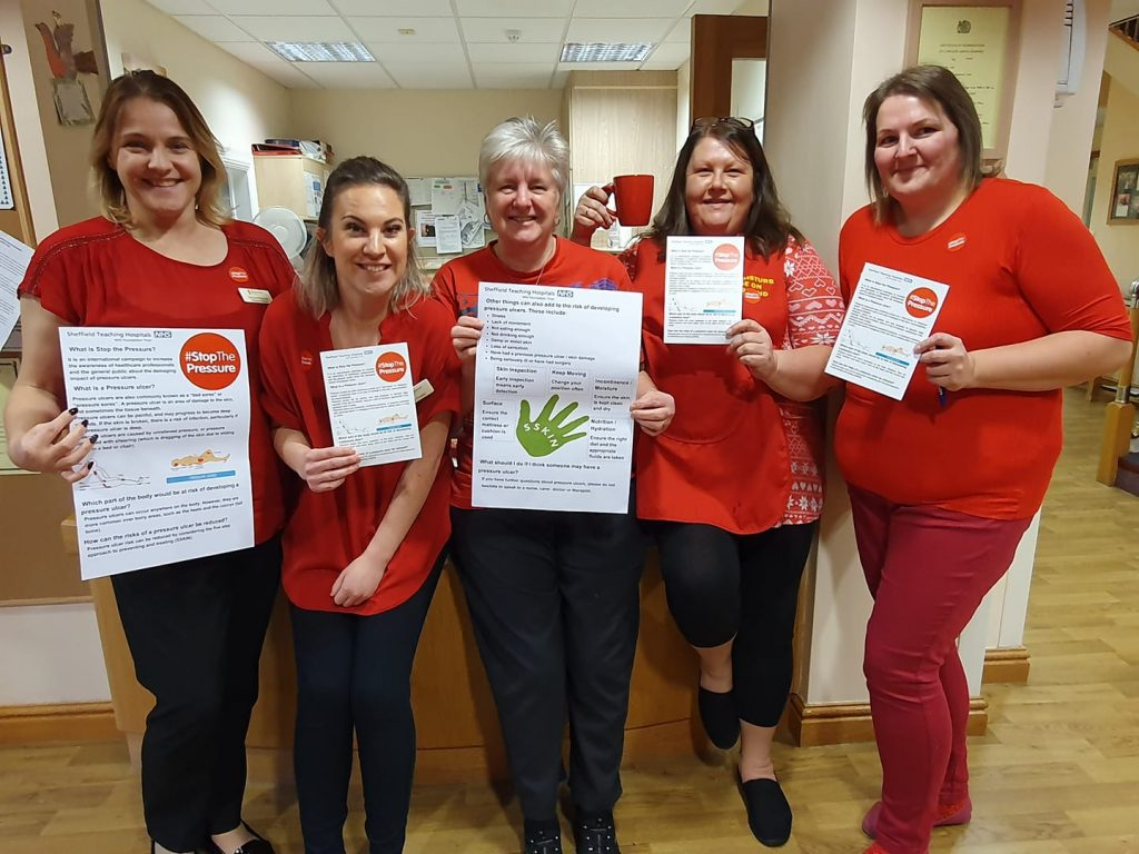 Broomgrove staff put their weight behind #StopThePressure